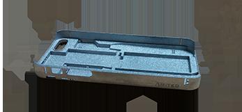 Optimal aluminum chassis